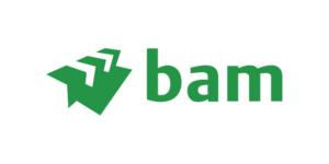 Logo van BAM Bouw en techniek
