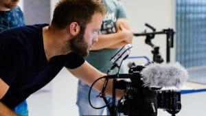 Filmopnames voor JC-electronics